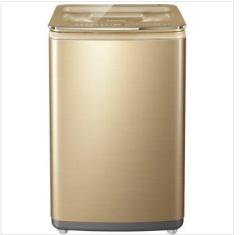 海尔卡萨帝 C802 100U1 10公斤全自动家用 变频节能波轮洗衣机 香槟色