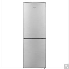 容声冰箱(Ronshen)BCD-187KA1DE拉丝银两门冰箱