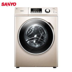 三洋(SANYO) DG-F90322BHG 9公斤 变频洗烘一体 滚筒洗衣机