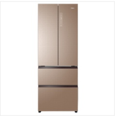 海尔冰箱BCD-450WDCZU1(专供机)风冷(自动除霜)自然密码【卡其金】