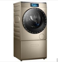 小天鹅洗衣机 比佛利 BVL2D120TG6 12 公斤 滚筒 洗衣机 摩卡金
