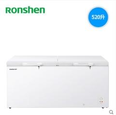 Ronshen/容声 BD/BC-520M/AHP单温冰柜家商用冷柜大型卧式顶开式