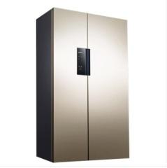 西门子610升 KA92NE33TI (专供机)淡金色 对开门冰箱变频风冷无霜香槟金