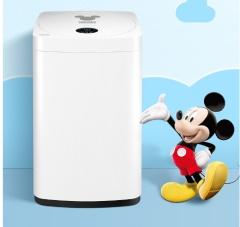 美的(Midea) MB30V05新品全自动宝宝专享迷你波轮洗脱一体洗衣机 迪士尼定制 一键桶自洁