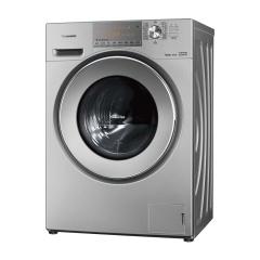 松下 10公斤滚筒洗衣机(DC) 全自动 银色 XQG100-E155H 10公斤