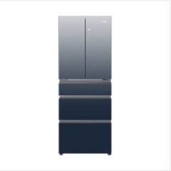 海尔冰箱BCD-426WDCEU1多门风冷渐变【布朗灰→深海蓝】