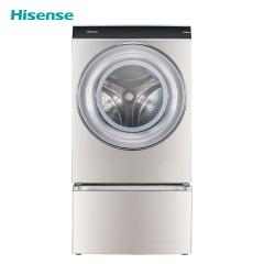 海信滚筒洗衣机-XQG120-BH1406AYFI星泽银