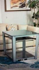 艾美特-電取暖桌-HZ10001M(鋼灰800*800)