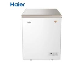 海爾冰柜家用迷你小冰柜冷柜冷藏冷凍深冷速超低溫凍零下-40度電冰柜(白色 BC/BD-146HF)