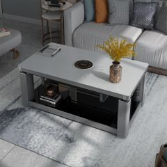 美的-电取暖桌-NZY-SRG1(银灰1380*750)