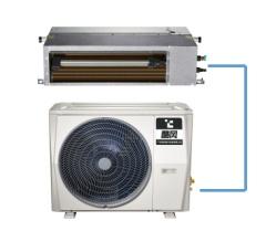 酷風3匹中央空調變頻GRD72T2W/BP2N1Y-CF(風管機)
