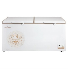 美的冷柜BD/BC-568DKEM金色