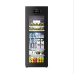 卡薩帝220升三溫區家用客廳辦公室冷藏柜冰吧 LC-220JE